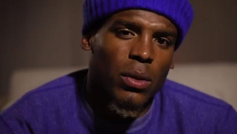 Cam Newton apologised via a video posted to Twitter: Twitter/@cameronnewton