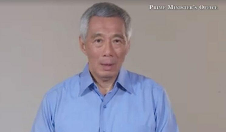 Prime Minister Lee Hsien Loong apologises to Singaporeans over his family's feud. Photo of screenshot: PM Lee's Facebook page