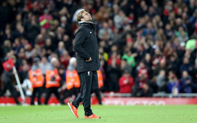 Klopp's gamble was punished by Anfield's visitors - PA