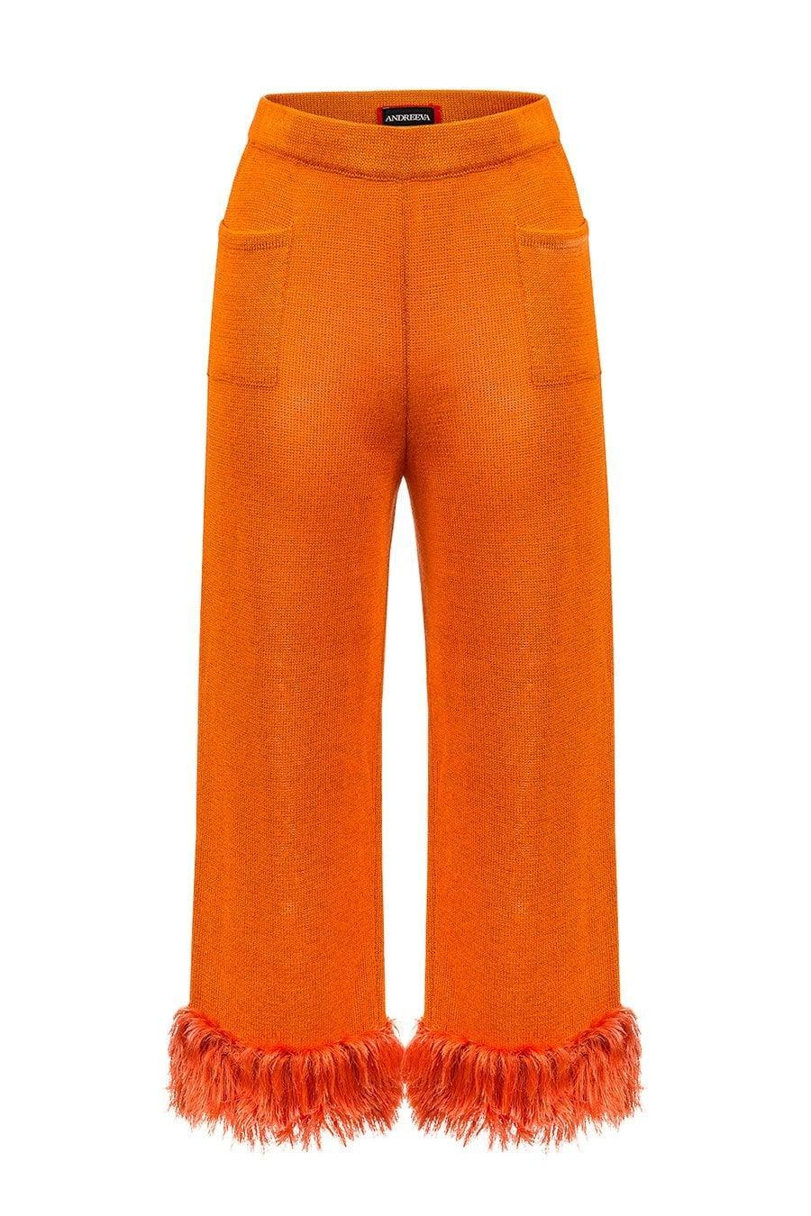 <p>Talk about sparking joy. You may never tire of wearing these <span>ANDREEVA Poppy Knit Pants</span> ($320), and that's totally okay.</p>