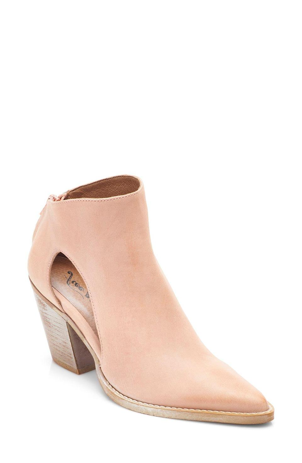 """<p><strong>FREE PEOPLE</strong></p><p>nordstrom.com</p><p><strong>$178.00</strong></p><p><a href=""""https://go.redirectingat.com?id=74968X1596630&url=https%3A%2F%2Fwww.nordstrom.com%2Fs%2Ffree-people-wilder-pointed-toe-bootie-women%2F5935838&sref=https%3A%2F%2Fwww.goodhousekeeping.com%2Fclothing%2Fg36292464%2Fbest-summer-boots%2F"""" rel=""""nofollow noopener"""" target=""""_blank"""" data-ylk=""""slk:Shop Now"""" class=""""link rapid-noclick-resp"""">Shop Now</a></p><p>Cut-out boots are a lightweight option that also allow for great airflow. Free People is known for its elevated bohemian designs. These boots are made with <strong>supple leather for a super soft feel. </strong>Note that these boots are available in whole sizes only. </p>"""