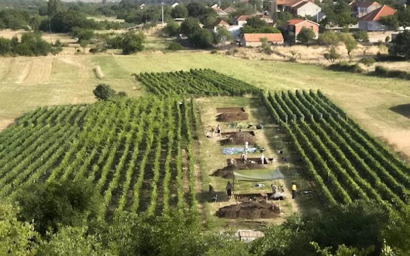 One of the archeological sites in Croatia where the cheese residue was discovered - Andrew M.T. Moore / SWNS.com