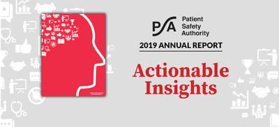 Patient Safety Authority's annual report includes actionable insights for health systems