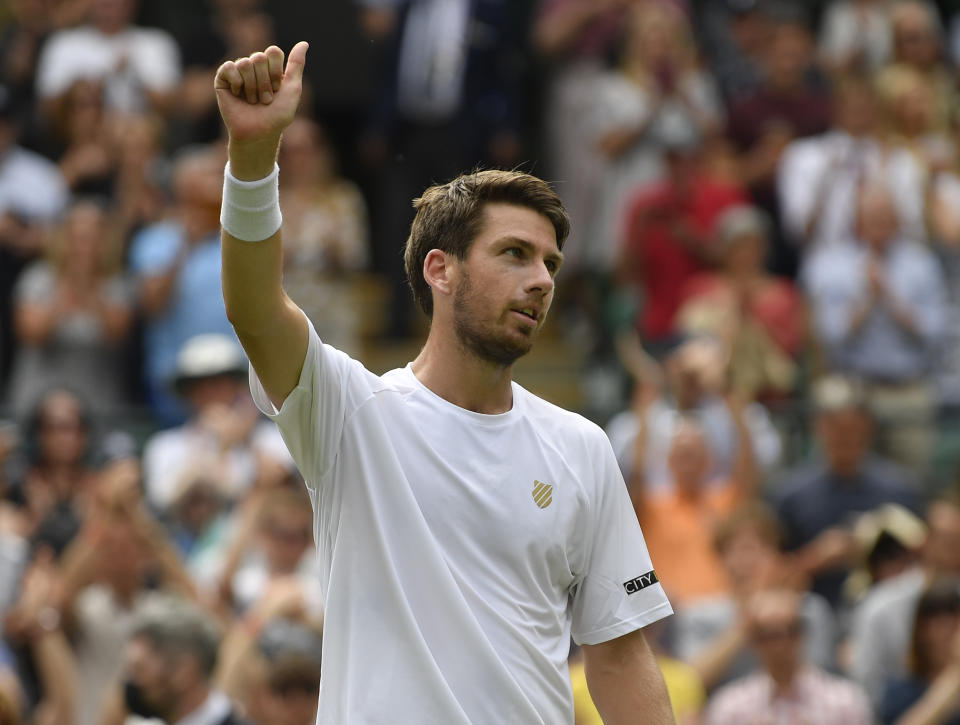 Norrie, 25, is enjoying a storming season and revelled in booking his place in the SW19 third round