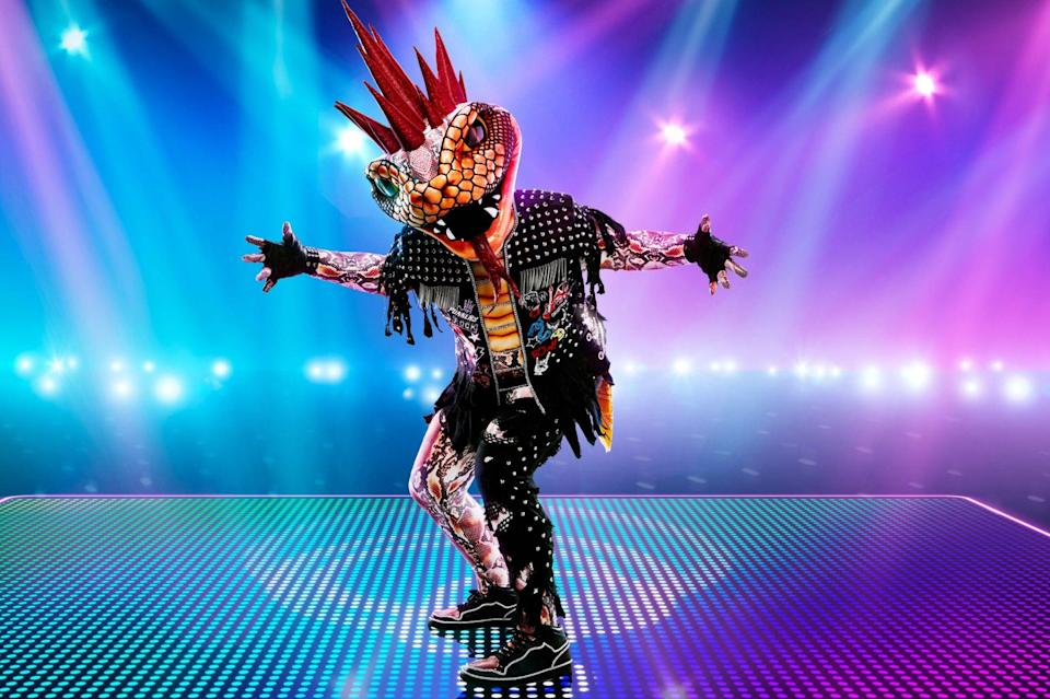 <p>The dancer behind Viper was revealed on Saturday</p> (PA)