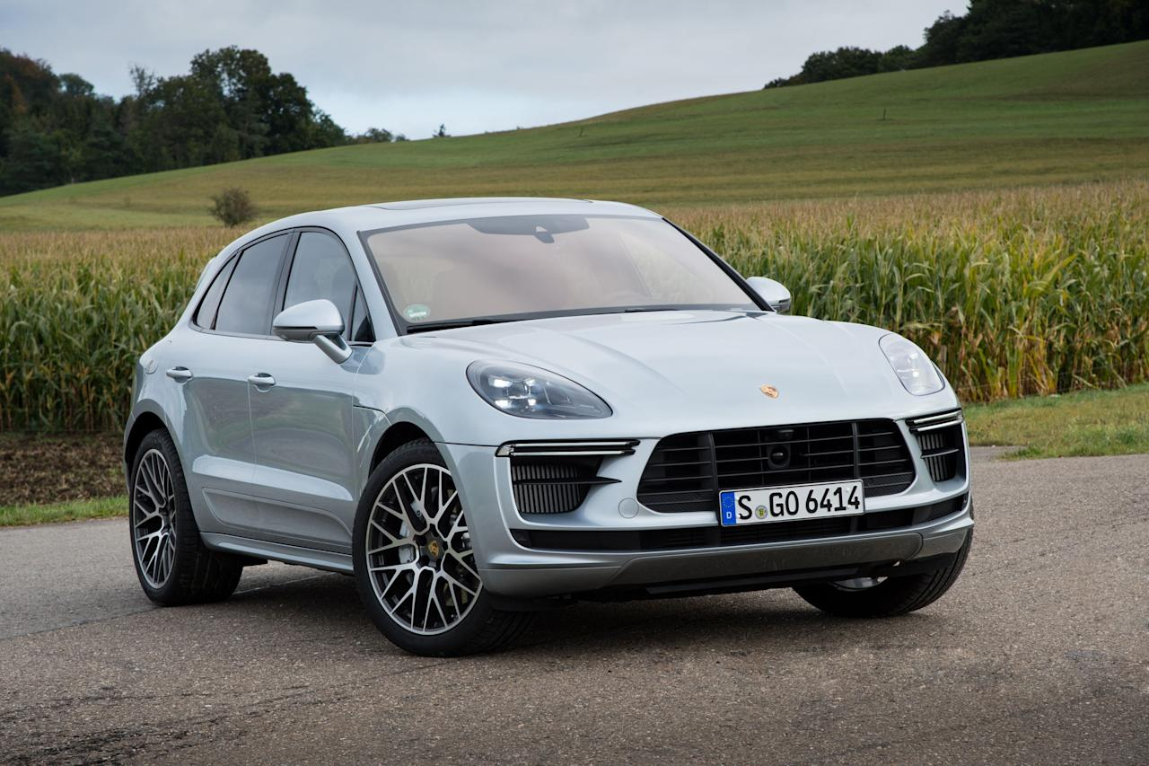 "<p>The more powerful 2020 Porsche Macan Turbo might look a lot like its inferior stablemates, but it has been fortified with so much more performance potential. Read the full story <a href=""https://www.caranddriver.com/reviews/a29516415/2020-porsche-macan-turbo-drive/"" target=""_blank"">here</a>.</p>"