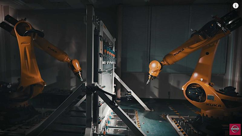 Watch: Nissan Teaches Robots To Make Classic Parts