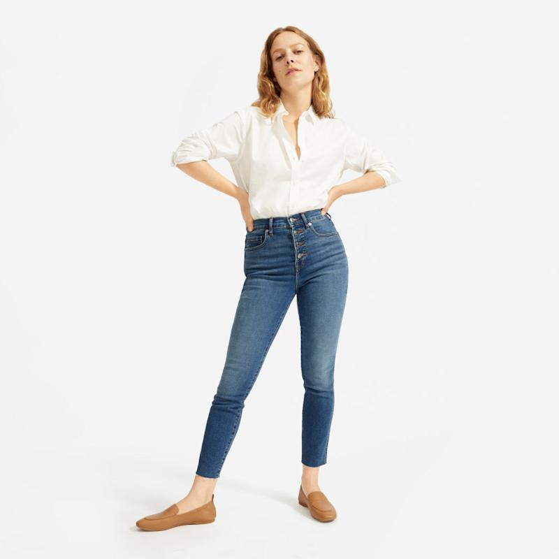 Authentic Stretch High-Rise Skinny Button Fly
