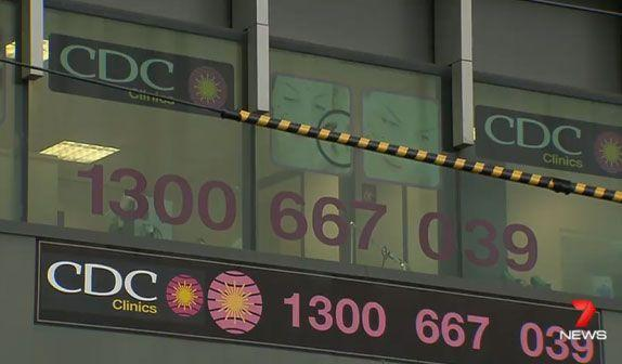 Ms Weinstein's clinic is in Armadale. Photo: 7 News