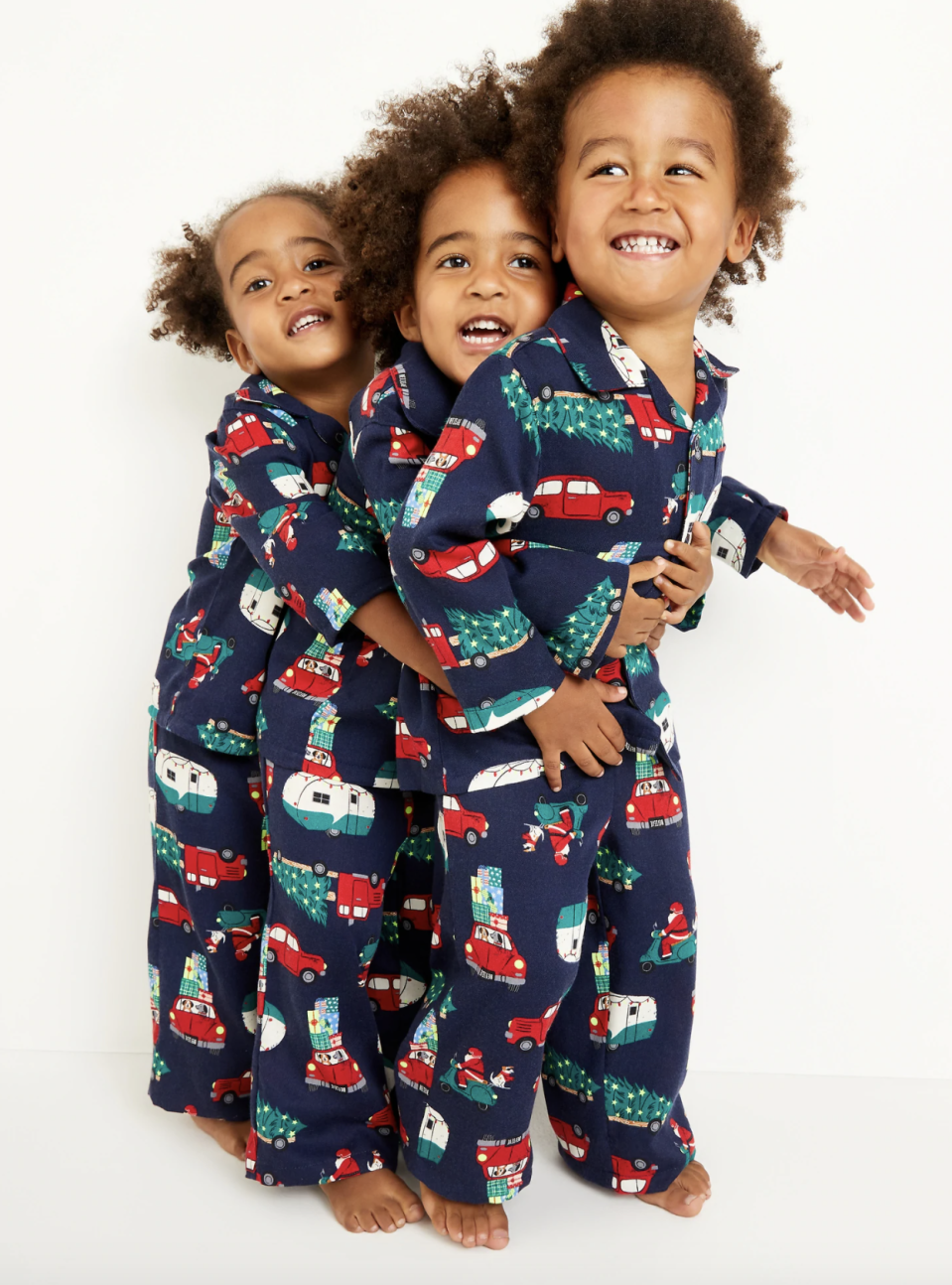Unisex Lightweight Flannel Pajama Set for Toddlers - on sale at Old Navy for $17 (originally $33).