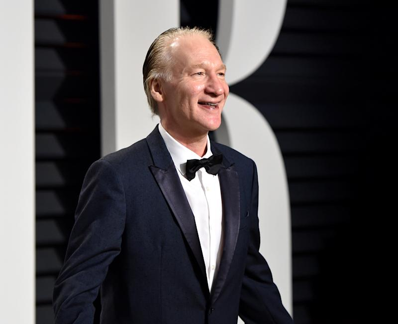 """Real Time"" host Bill Maher defended former MSNBC host Chris Matthews, who resigned from Hardball in March. (Photo: Getty Images)"