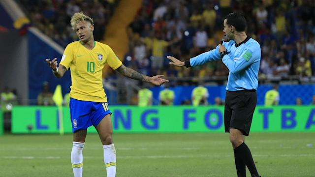 Neymar became the most-fouled player in a World Cup game since 1998, and wants match officials to put a stop to such rough treatment.
