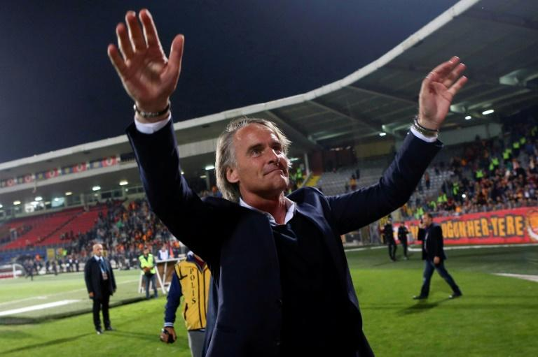 Jan Olde Riekerink has been sacked