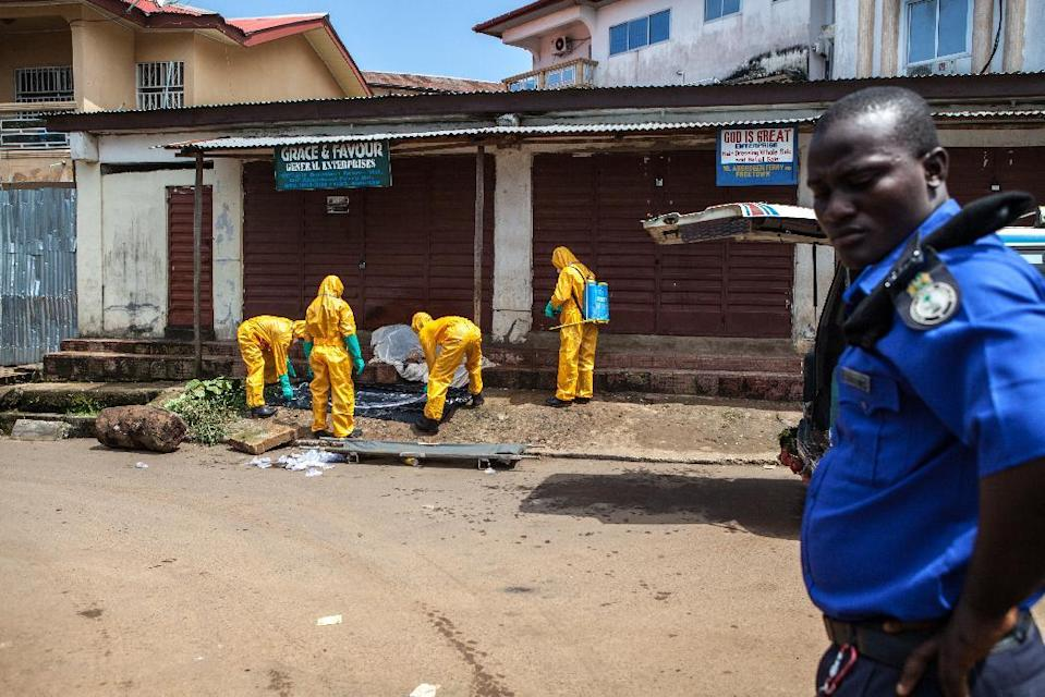 Third UN employee dies from Ebola