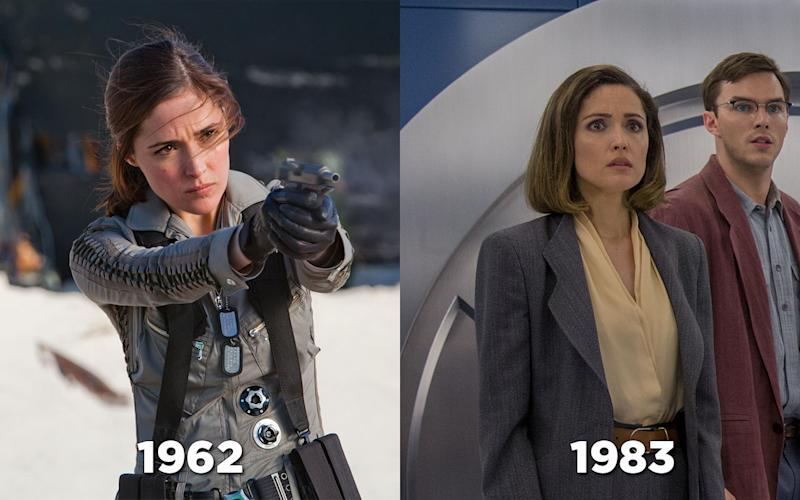 Rose Byrne as Moira McTaggert in 'First Class' and 'Apocalypse' - Credit: 20th Century Fox