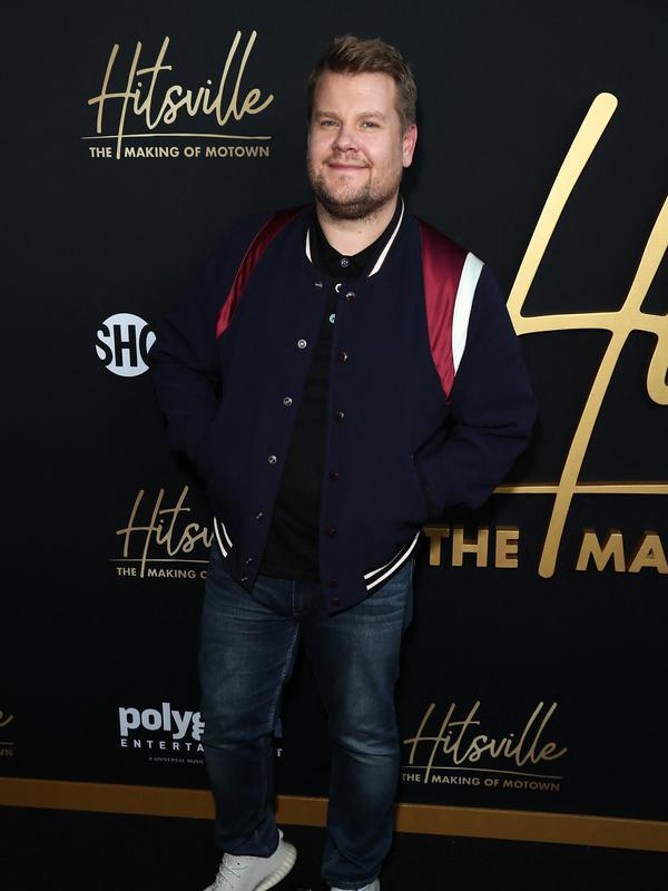 James Corden menghadiri premiere Hitsville: The Making Of Motown di Harmony Gold, Los Angeles, California, Amerika Serikat, 8 Agustus 2019. (Leon Bennett/Getty Images/AFP)
