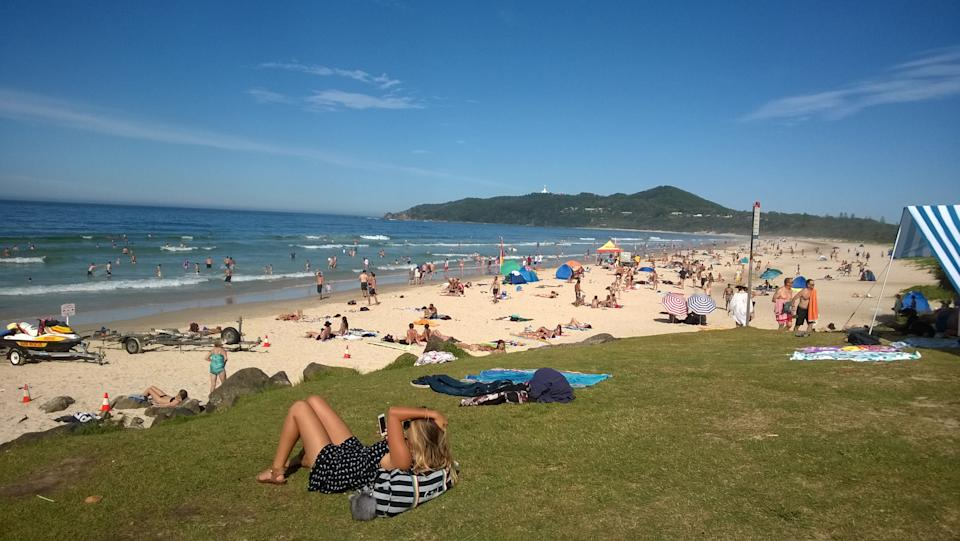 Queenslanders can now holiday in Byron Bay without having to quarantine on their return. Source: Getty