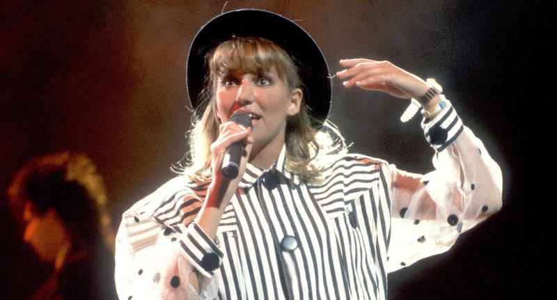 Debbie Gibson performing in 1988.