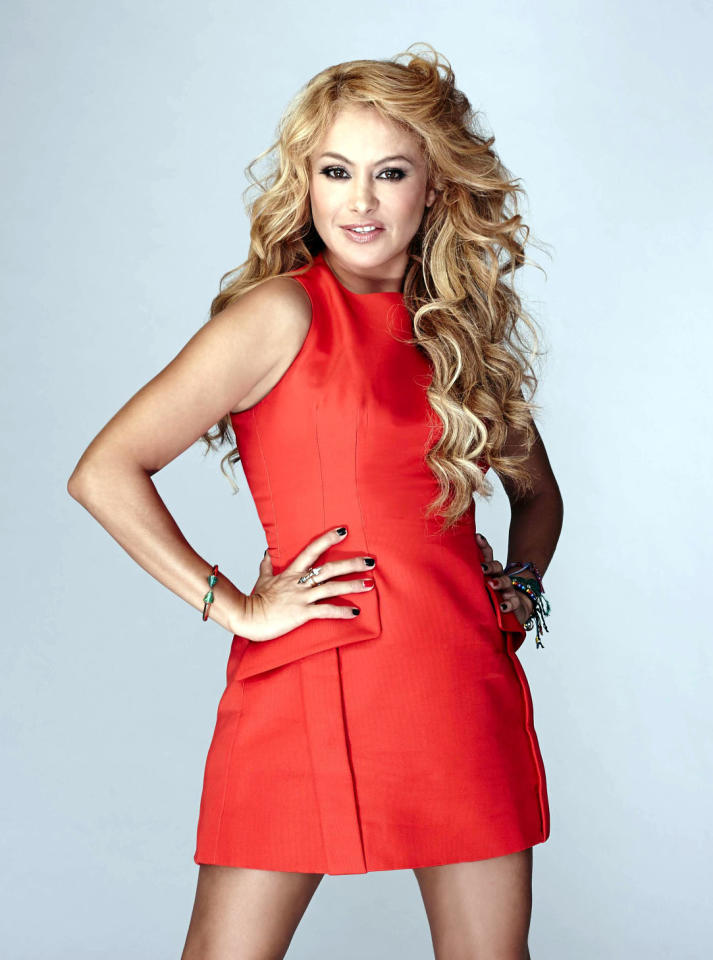 "Global pop sensation Paulina Rubio joins the judge's panel on Season 3 of ""The X Factor."""
