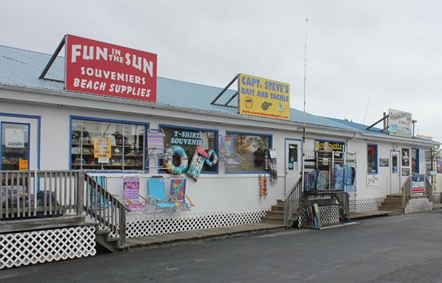 Capt. Steve's Bait and Tackle Shop in Chincoteague, VA.