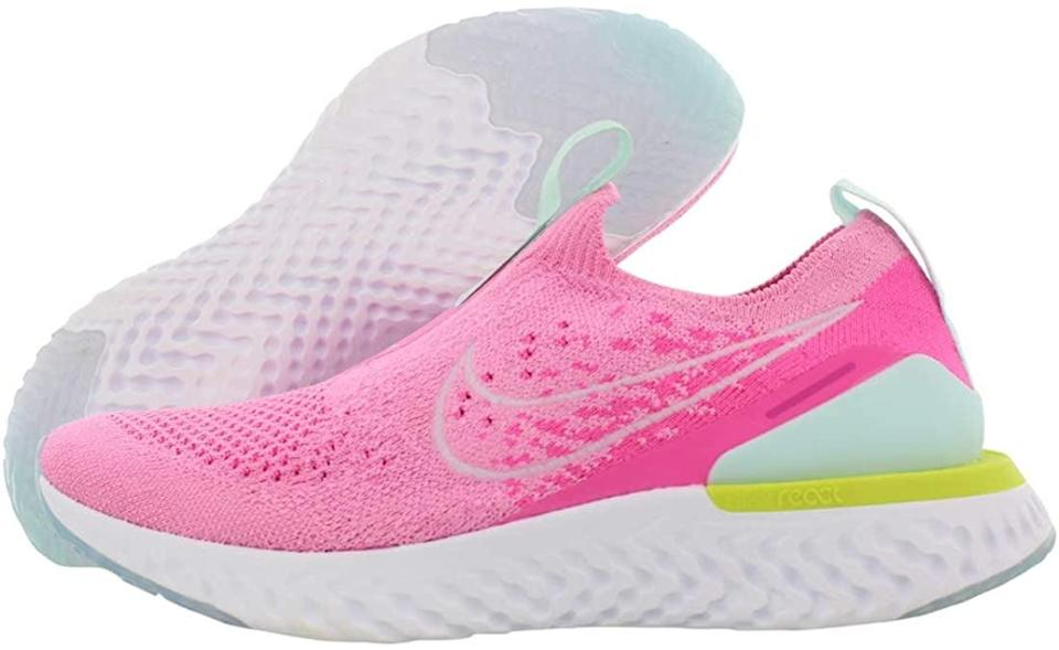 <p>If you love experimenting with color, these <span>Nike Women's Epic Phantom React Flyknit Running Shoes</span> ($167) are a must-have for the summer. The gradient vibrant pink with subtle neon detailing is such a vibe.</p>
