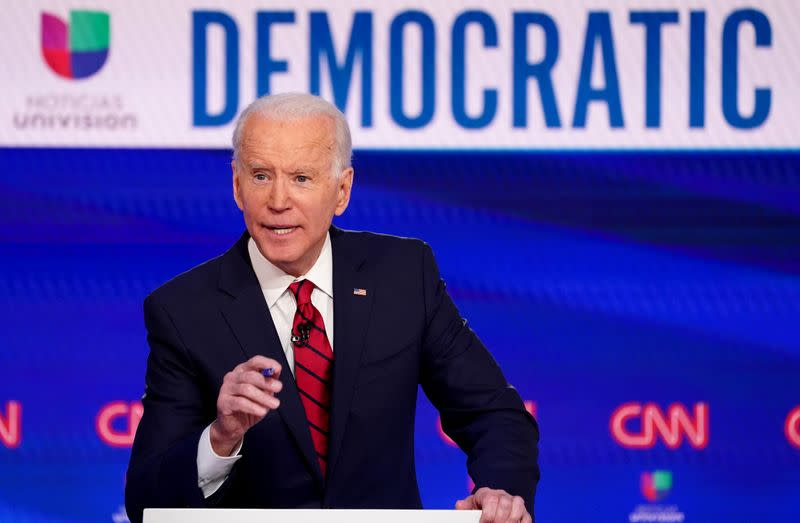 Biden projected to win Washington state's Democratic presidential primary