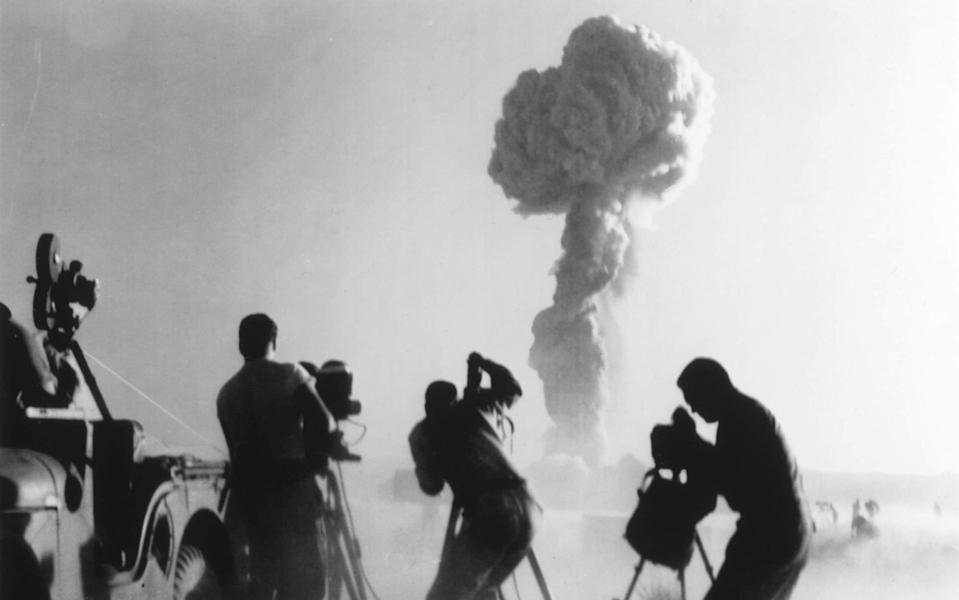 Seventy years ago, tourists flocked to see nuclear testing in the Nevada desert - Interim Archives