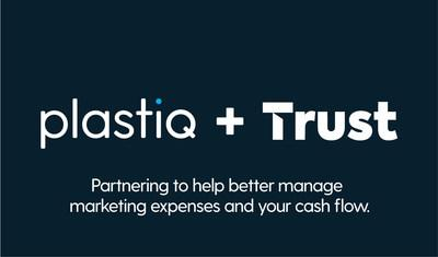 Trust and Plastiq announce a partnership that will allow businesses to pay more of their marketing investments using their Trust card.