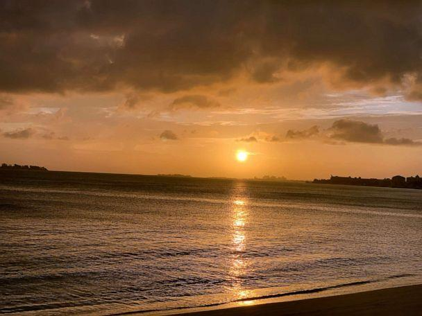 PHOTO: The first time we saw the sun in 3 days, from Nassau, Bahamas, Sept. 4, 2019. (ABC News)