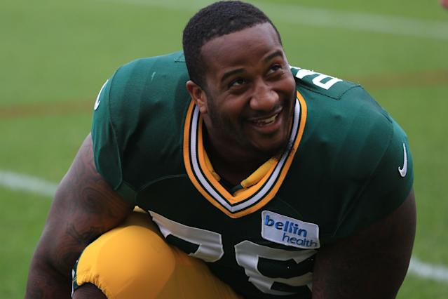 Former Green Bay Packers defensive tackle Mike Daniels reportedly has signed with the Detroit Lions. (Getty Images)