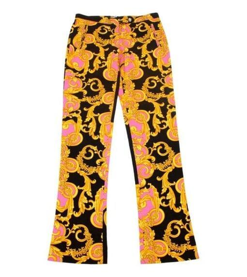 <p>Shop LePrix for really fun prints and patterns, like these <span>Versace Denim Baroque Print Jeans</span> ($259).</p>