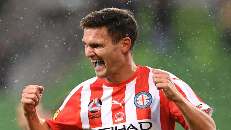 Melbourne City 3-1 Central Coast Mariners: A-League leaders maintain strong start
