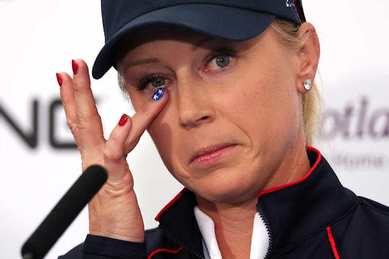 Team USA's Morgan Pressel is in confident mood ahead of the Solheim Cup in Scotland