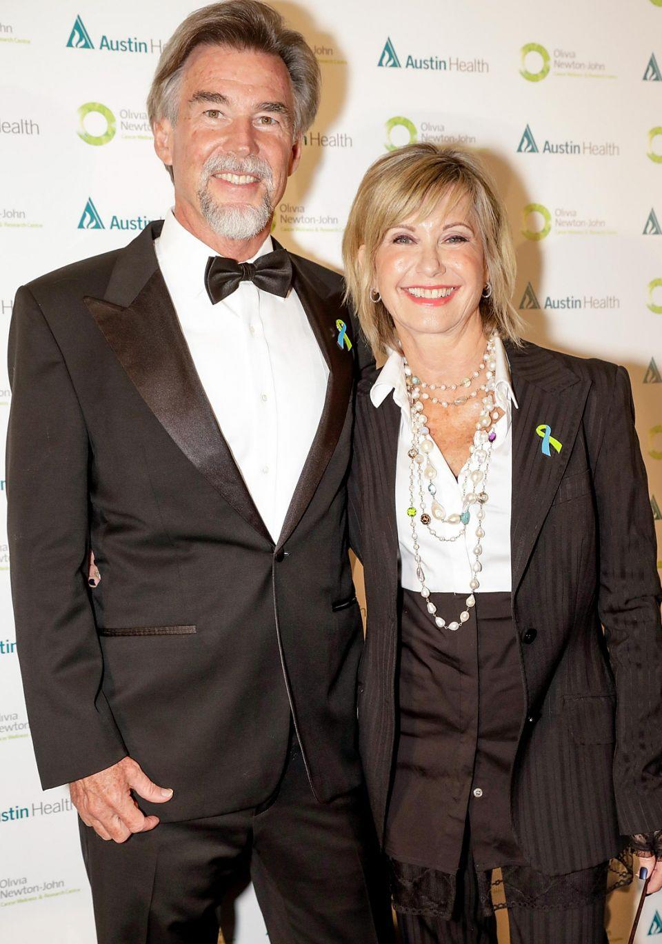 Olivia has revealed that her husband John Easterling has been home-growing her medical marijuana for her. The couple looked to be in good spirits at the ONJ Gala over the weekend. Source: Getty