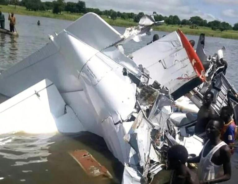 The plane crashed as it approached the airport in Yirol, a town in the centre of South Sudan