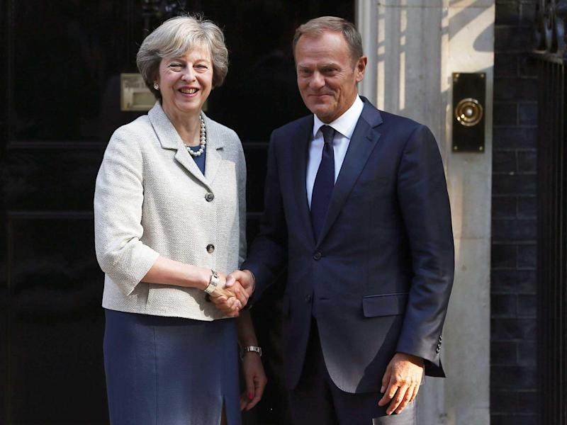 The letter from Theresa May to Donald Tusk this week will have profound consequences for our relationship with the continent: Reuters