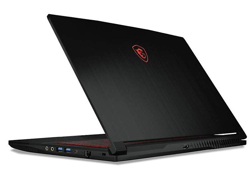 Game on the go with MSI laptops. (Photo: Amazon)