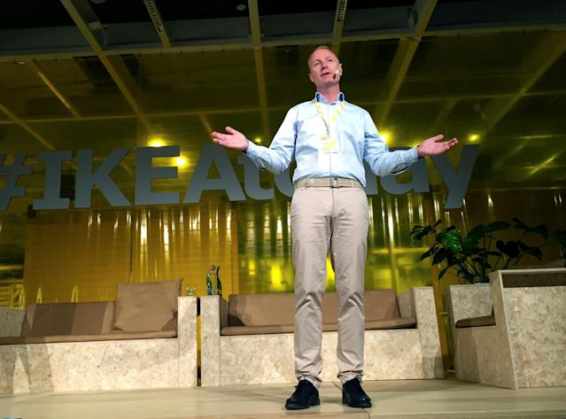 <p>No. 17 (tie): IKEA CEO Peter Agnefjall<br>CEO approval rating: 92 per cent<br>(Reuters) </p>
