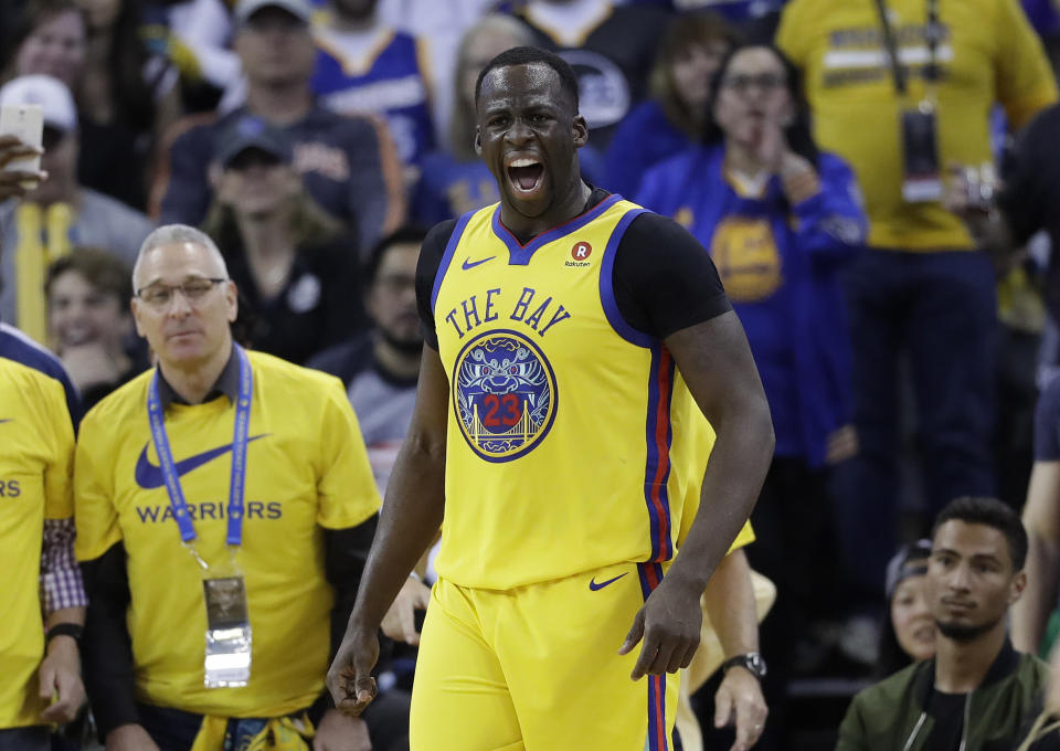 With Stephen Curry sidelined, the Warriors need Draymond Green at his snarling Defensive Player of the Year best.