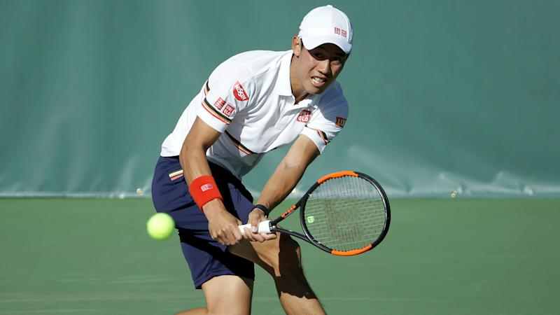 Nishikori rolls on at New York Open, Isner bows out