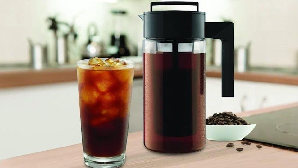 The Takeya remains our favorite cold brew coffee maker, even after multiple rounds of testing.