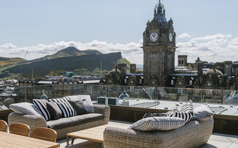 The Edinburgh Grand is centrally located on St Andrew Square, in the heart of the Scottish capital