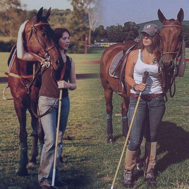 PHOTO: Mariah Smith, left, and her older sister Shannon Kent, right, dreamed of one day opening a horse farm to help veterans struggling with PTSD and children with disabilities. (Shannon Kent's Family)