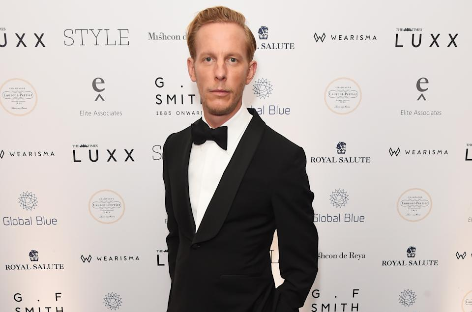 LONDON, ENGLAND - NOVEMBER 18:   Laurence Fox attends the Walpole British Luxury Awards 2019 at The Dorchester on November 18, 2019 in London, England.  (Photo by David M. Benett/Dave Benett/Getty Images for Walpole)
