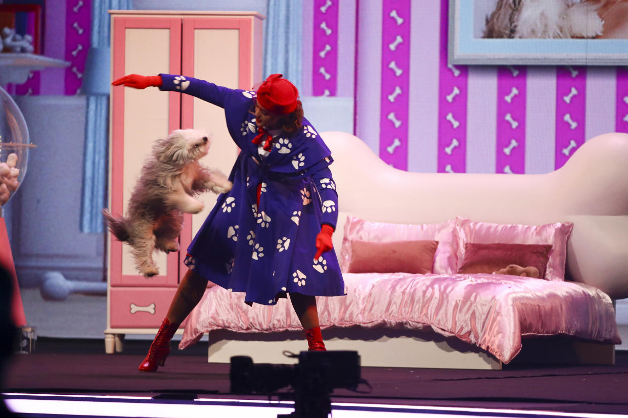 Ashleigh and Sully performed a Mary Poppins routine on BGT: The Champions (Credit: Syco/Thames)