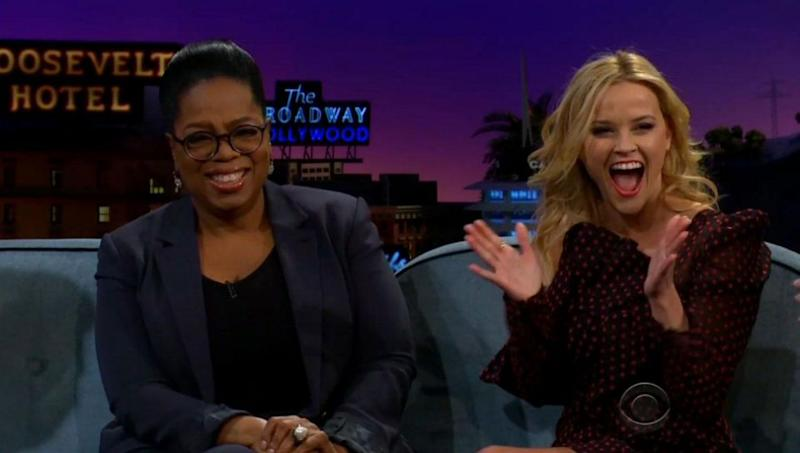 Oprah Winfrey has done an impression of her gal pal Reese Witherspoon and it's amazing. Source: CBS