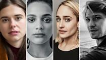 """<p><strong>Release date: 2021 on BBC Three</strong></p><p> The creative masterminds behind Normal People are developing Sally Rooney's first novel, Conversations with Friends, for the BBC.</p><p>The exciting cast line-up was announced earlier this year (more on that below) and the BBC recently confirmed that filming has officially begun, meaning we won't have too long to wait until we can get our fix.</p><p>Jemima Kirke (aka Jessa from Girls — pictured above) will take the role of Melissa in the adaption, while Joe Alwyn (The Favourite) will play Nick, following up with newcomer Alison Oliver as Frances and American Honey star Sasha Lane as Bobbi.</p><p>Just like Normal People, Conversations with Friends is also set in Dublin and explores the nuances and complexities of relationships, although the two books are not related at all. The plot follows the four main characters – Frances, Bobbi, Nick and Melissa – as their lives and loves become intertwined with devastating results.</p><p>Acclaimed Room director Lenny Abrahamson — who also co-directed Normal People — will be at the helm of the production again; which will consist of 12 half-hour episodes.</p><p><a class=""""link rapid-noclick-resp"""" href=""""https://www.waterstones.com/book/conversations-with-friends/sally-rooney/9780571333134"""" rel=""""nofollow noopener"""" target=""""_blank"""" data-ylk=""""slk:SHOP THE BOOK NOW"""">SHOP THE BOOK NOW</a></p>"""