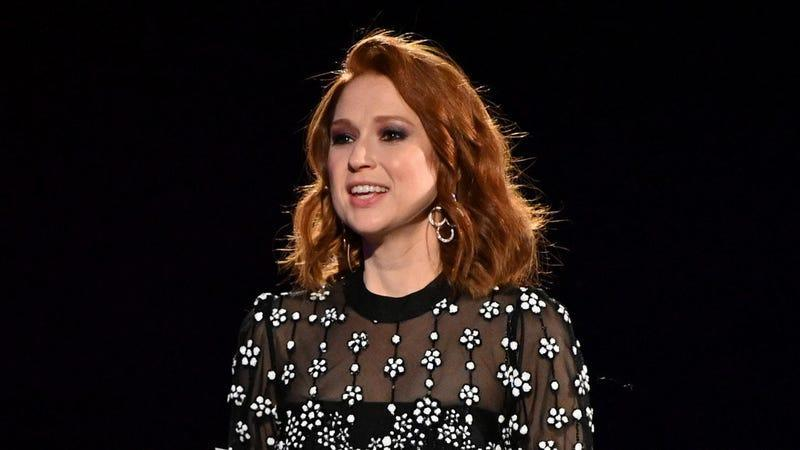 Ellie Kemper speaks onstage during the 2019 Ad Council Dinner on December 05, 2019 in New York City.