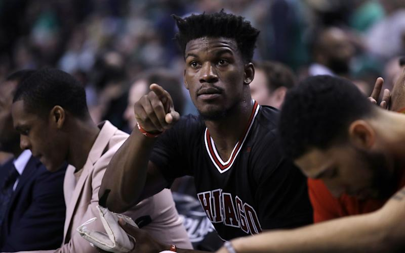 Does Jimmy Butler see a landing spot? (AP)