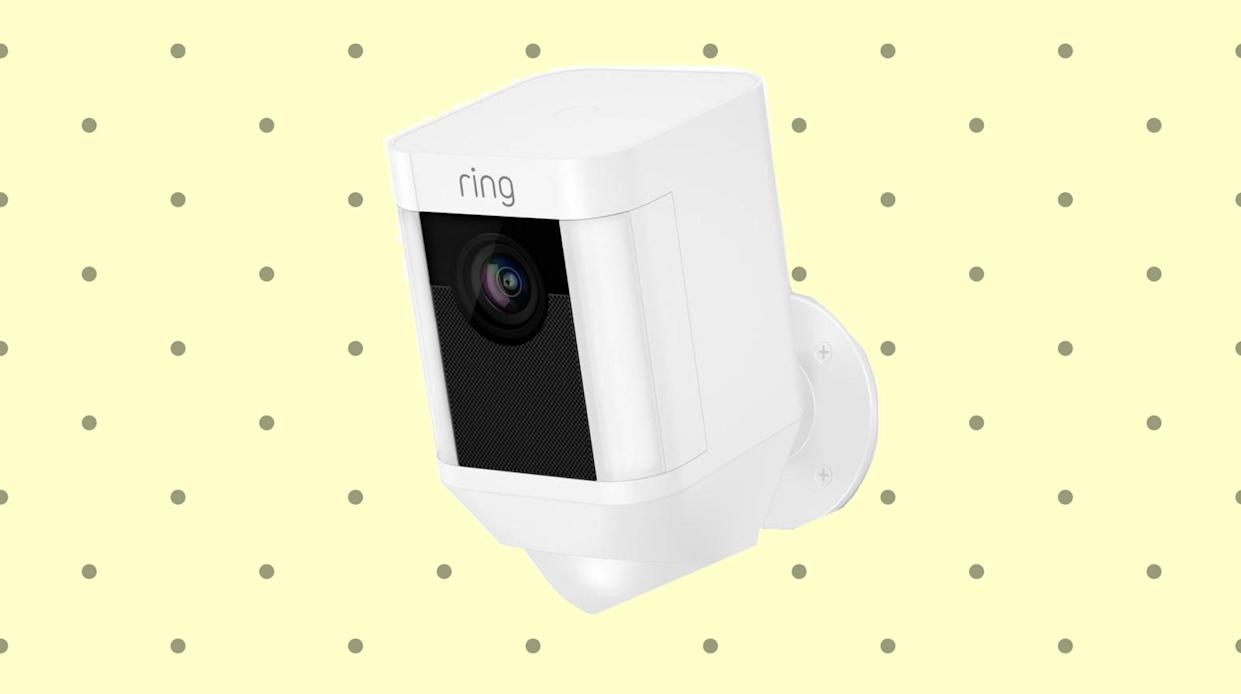 Early Prime Day deal: Save $50 on the Ring Spotlight Cam. (Photo: Amazon)